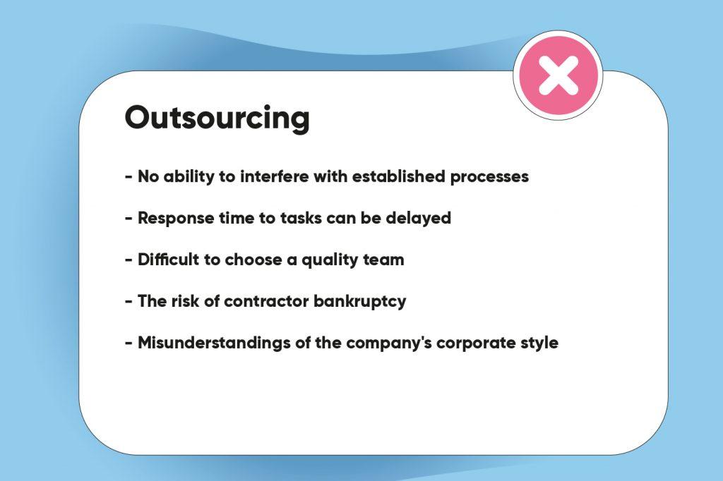 outsourced development