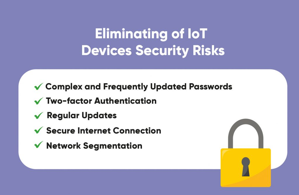 IoT devices security risks preventing